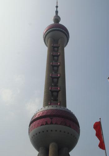 上海・東方明珠塔